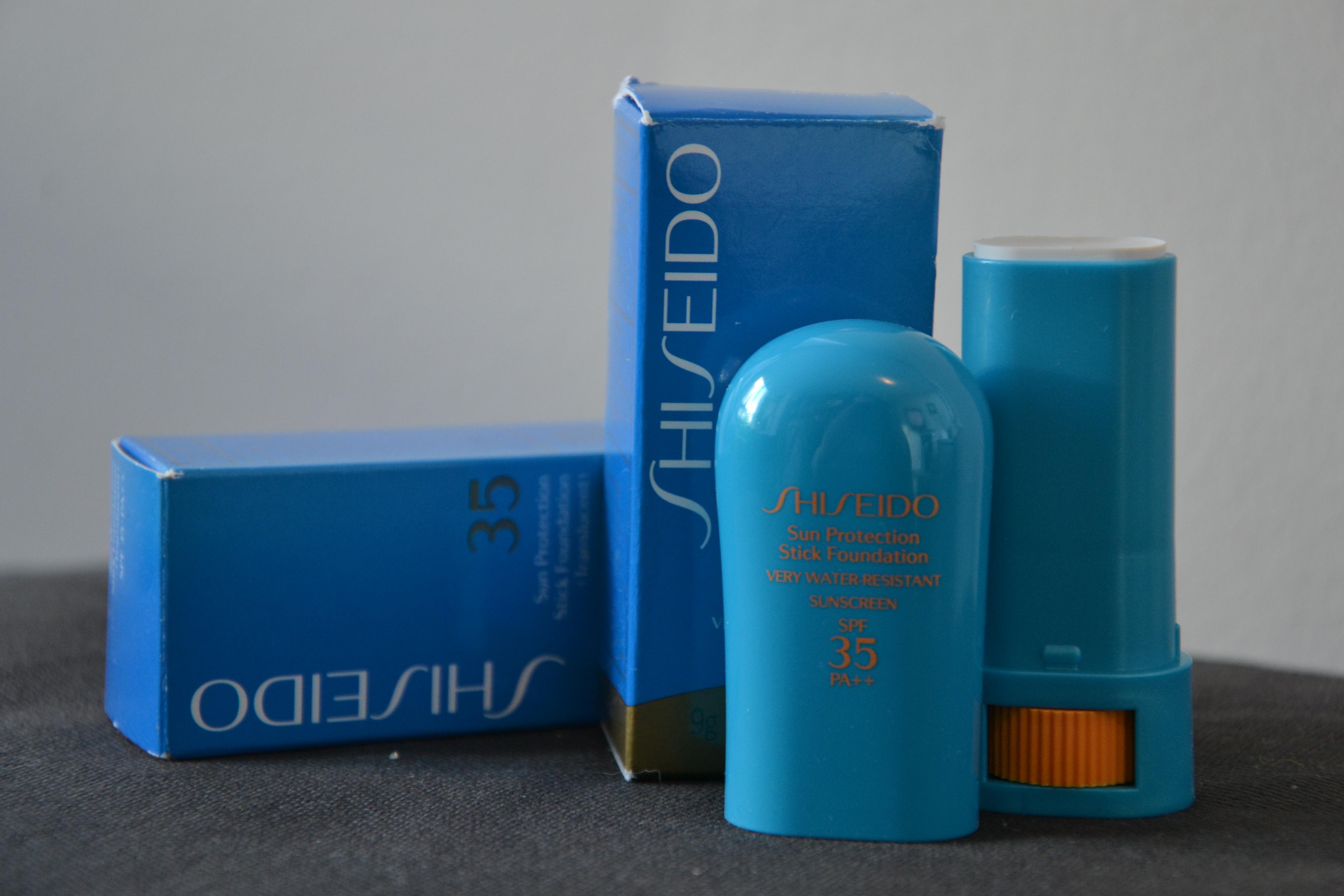 shiseido sun protection stick
