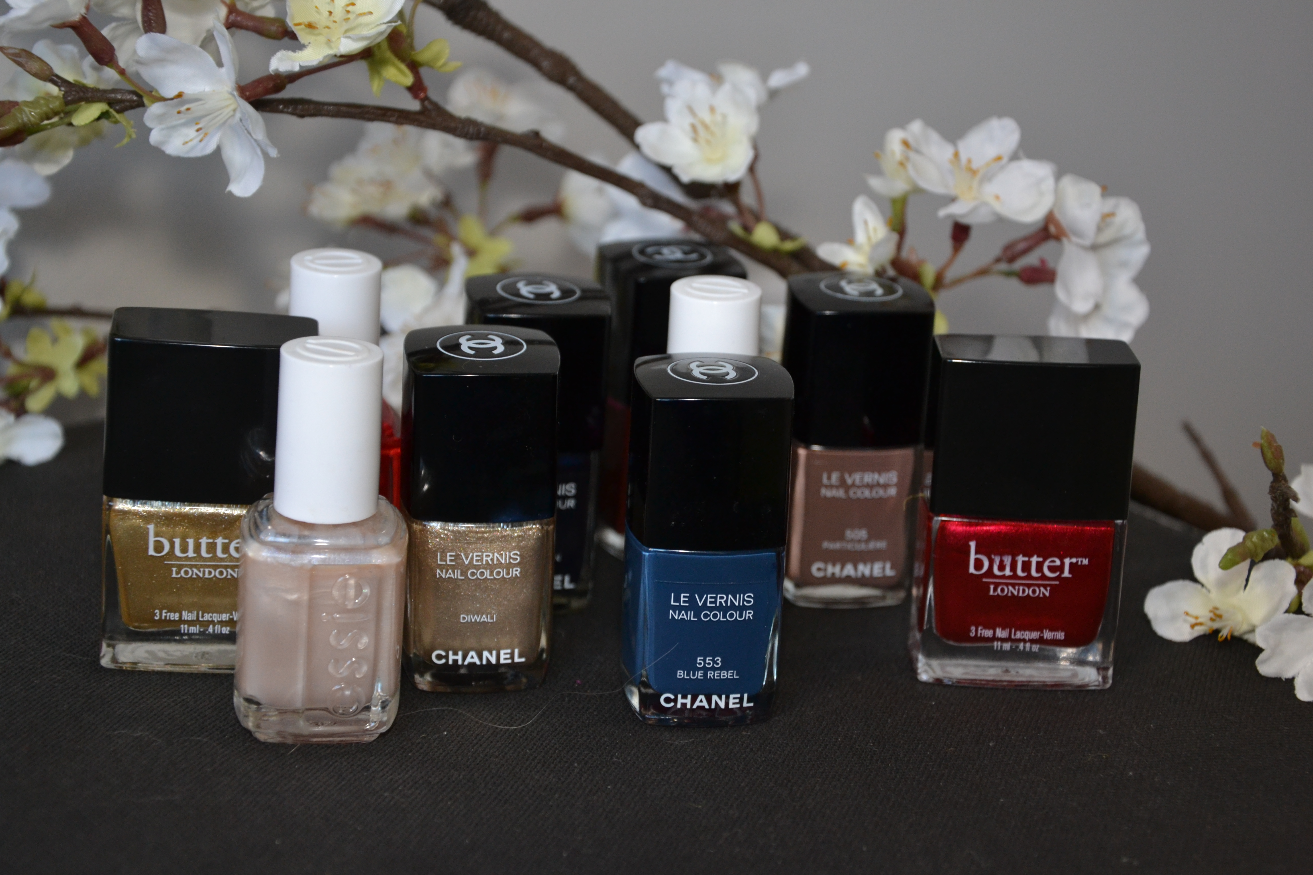 My favorite spring nail polishes